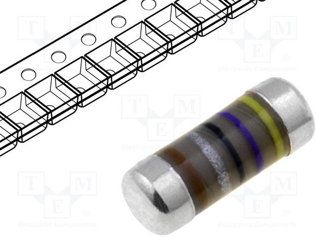 Резистори SMD melf 0207