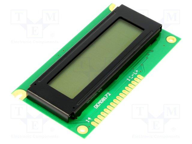 Дисплеї LCD буквено-цифрові