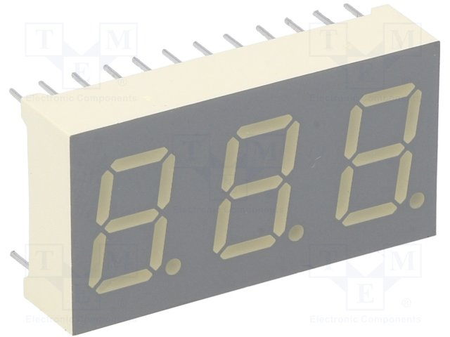 Дисплеї LED потрійні