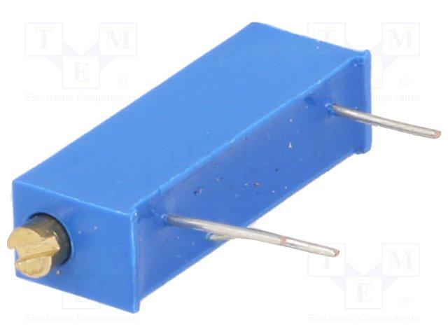 Потенціометри THT багатооборотні 19мм
