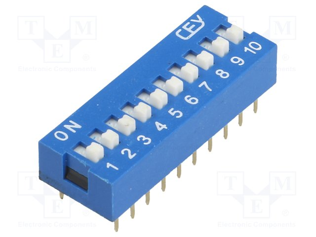 Перемикачі типа Dip-Switch