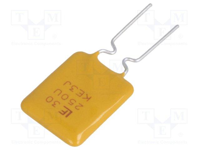Запобіжники полімерні THT